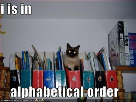 library lolcat