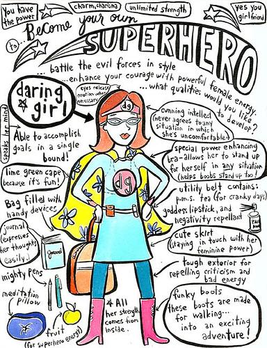 become your own  superhero - keri smith