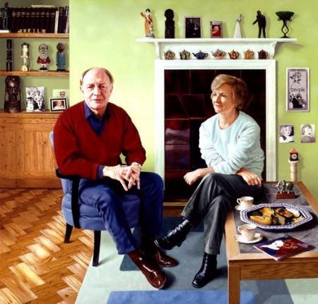 NPG 6583, Neil Gordon Kinnock; Glenys Elizabeth Kinnock
