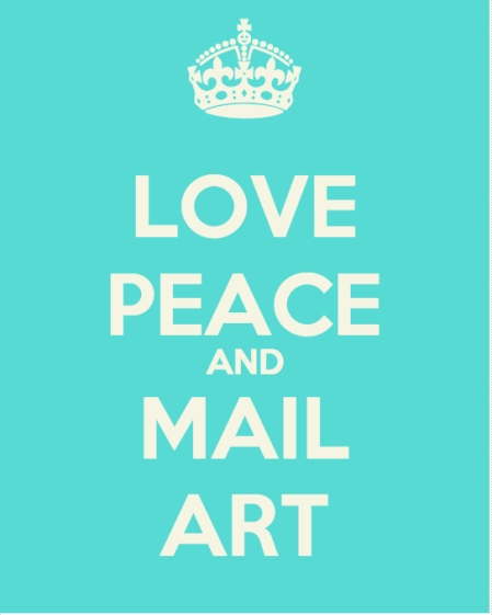 love peace and mail art