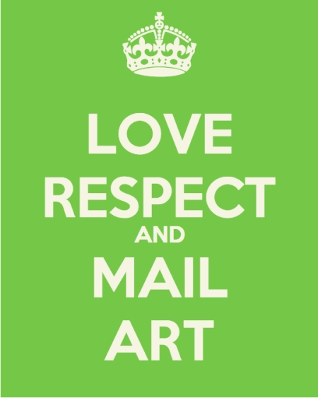 love respect and mail art
